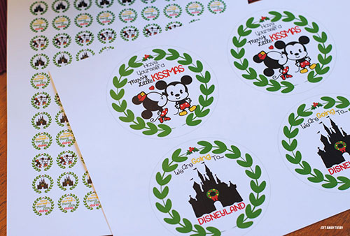 Disney Kissmas Vacation Surprise Printable
