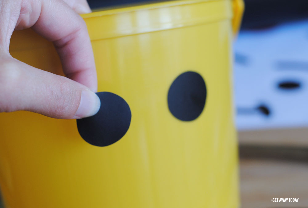 Lego Bucket Craft Eyes