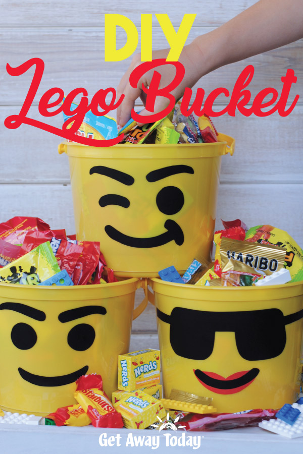 DIY Lego Bucket Craft || Get Away Today