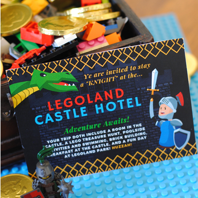LEGOLAND Castle Hotel Vacation Surprise