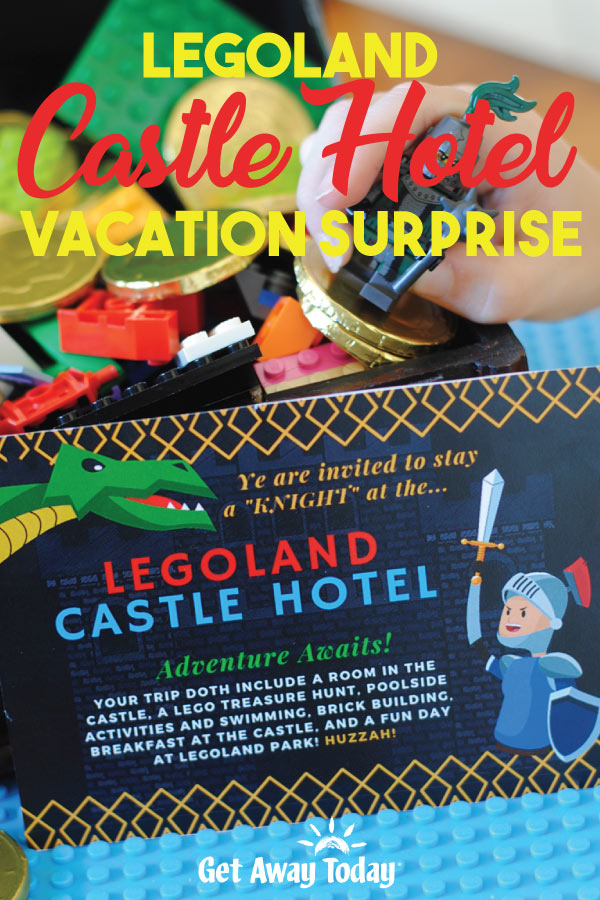 LEGOLAND Castle Hotel Vacation Surprise || Get Away Today
