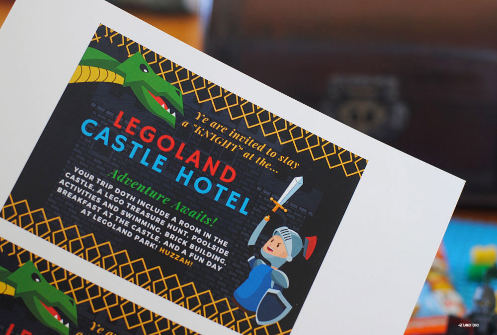 LEGOLAND Castle Hotel Vacation Surprise Printable