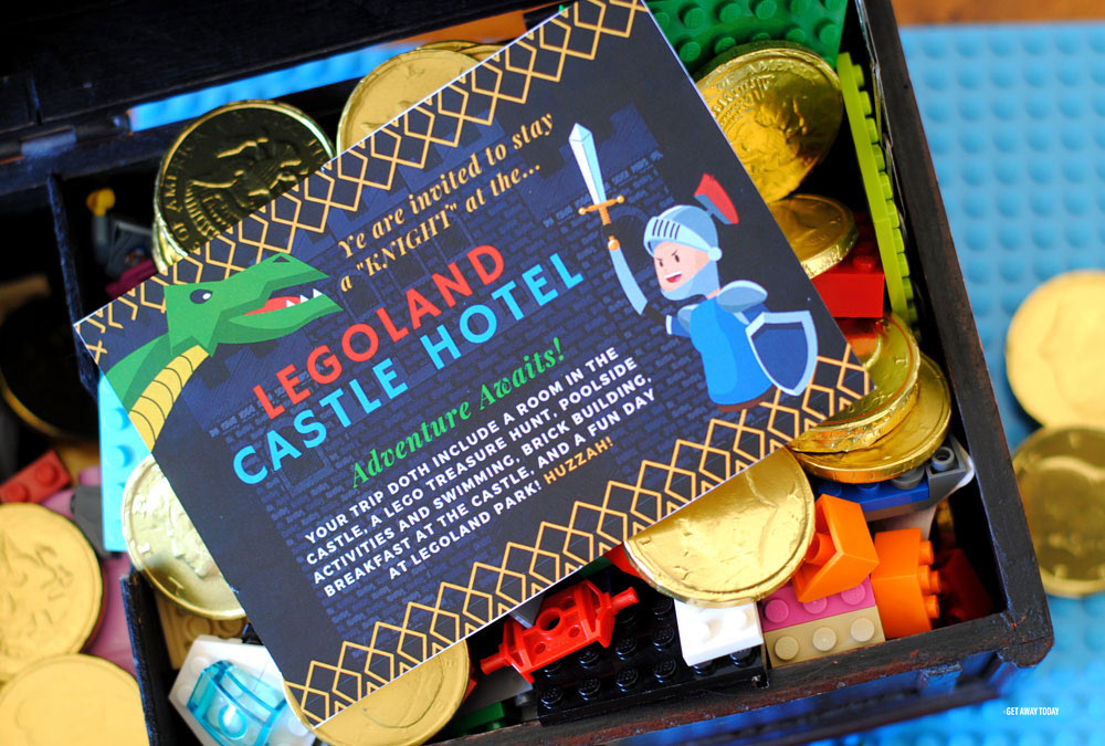 LEGOLAND Castle Hotel Vacation Surprise Treasure
