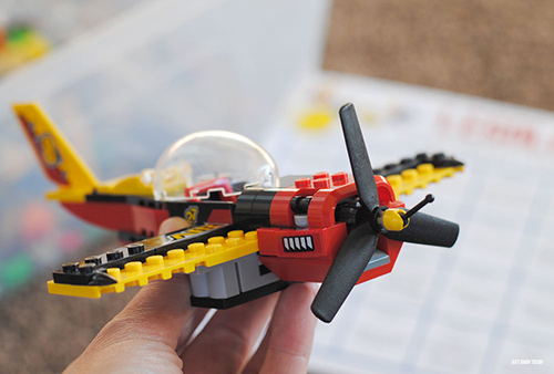 Legoland Countdown Calendar Printable Airplane