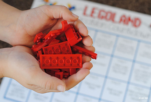 Legoland Countdown Calendar Printable Red