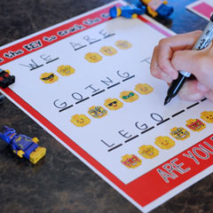 Free LEGOLAND Vacation Surprise Printable