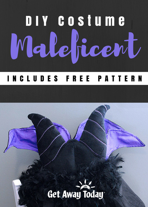 DIY Maleficent Costume Pin | Get Away Today
