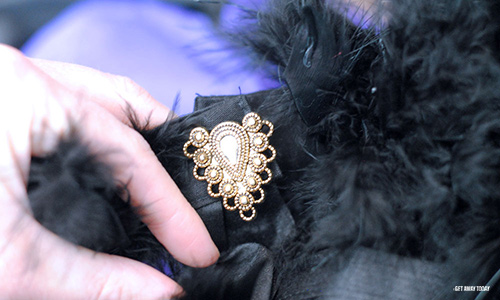 DIY Maleficent Costume Button