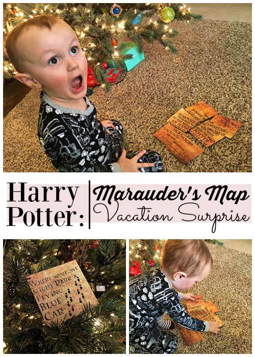 Harry Potter: Marauder's Map Vacation Surprise for Universal