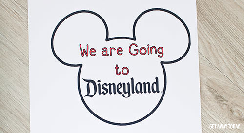 picture regarding You're Going to Disneyland Printable called Had been Moving towards Disneyland Mickey Balloon Question