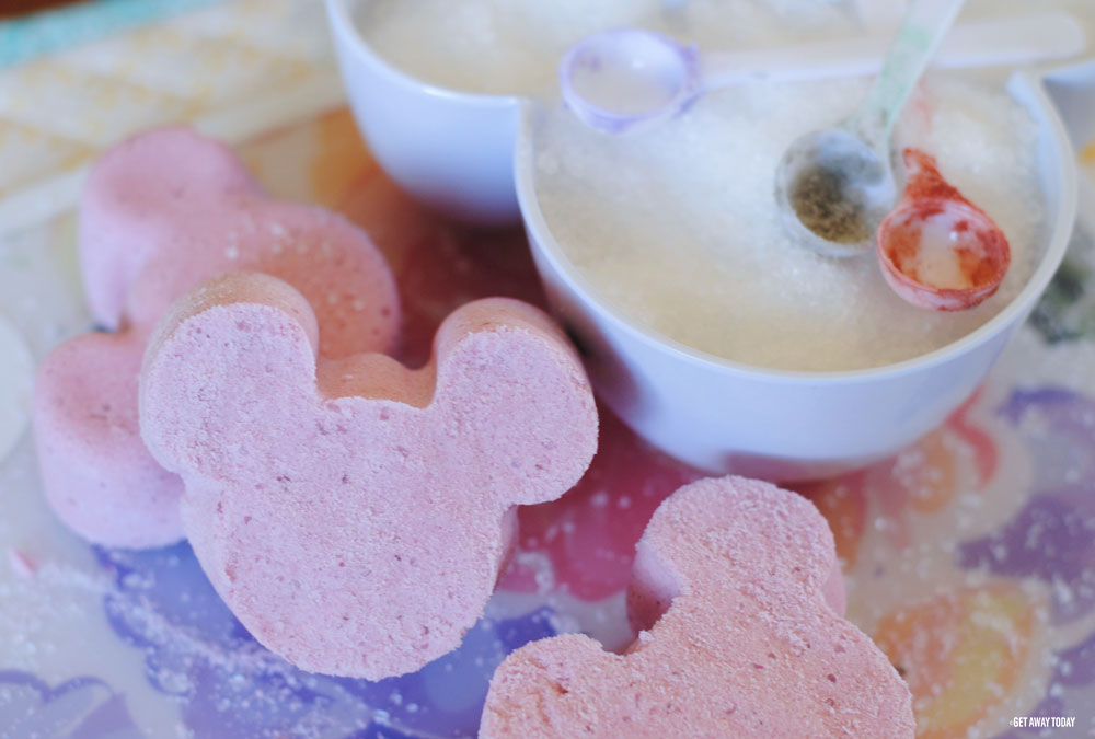 Mickey Bath Bombs Header