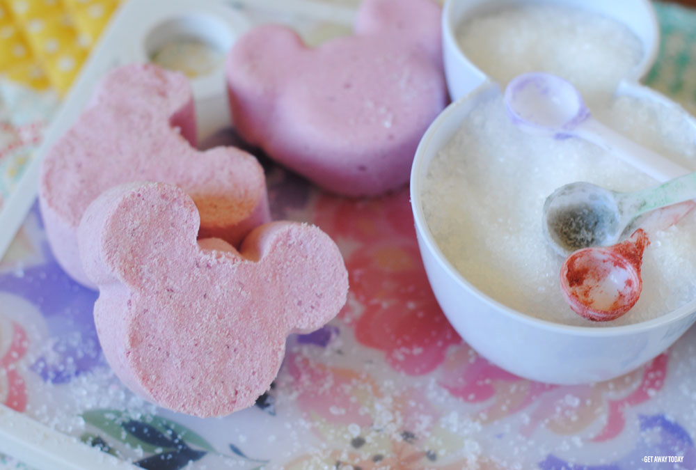 Mickey Bath Bombs Mickey