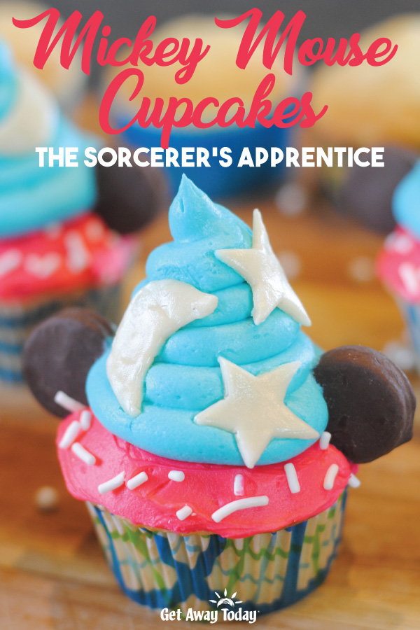 Mickey Mouse Cupcakes Sorcerer's Apprentice || Get Away Today