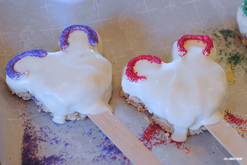 Mickey Mouse Sugar Skull Treats Ears
