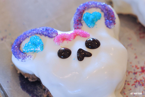 Mickey Mouse Sugar Skull Treats Face