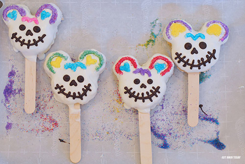 Mickey Mouse Sugar Skull Treats Mouth
