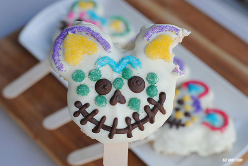 Mickey Mouse Sugar Skull Treats Taste
