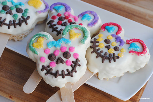 Mickey Mouse Sugar Skull Treats Yum