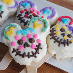 Mickey Mouse Sugar Skull Treats