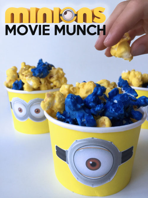 picture regarding Free Printable Minion Eyes called Minions Munch and Cost-free Printable