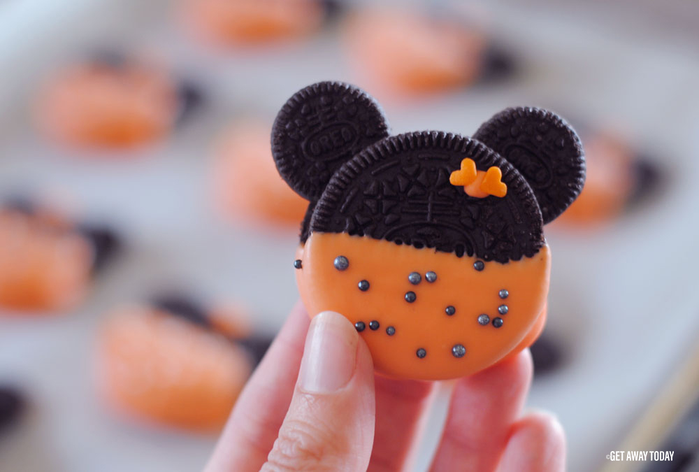Minnie Mouse Oreo Cookies Cute