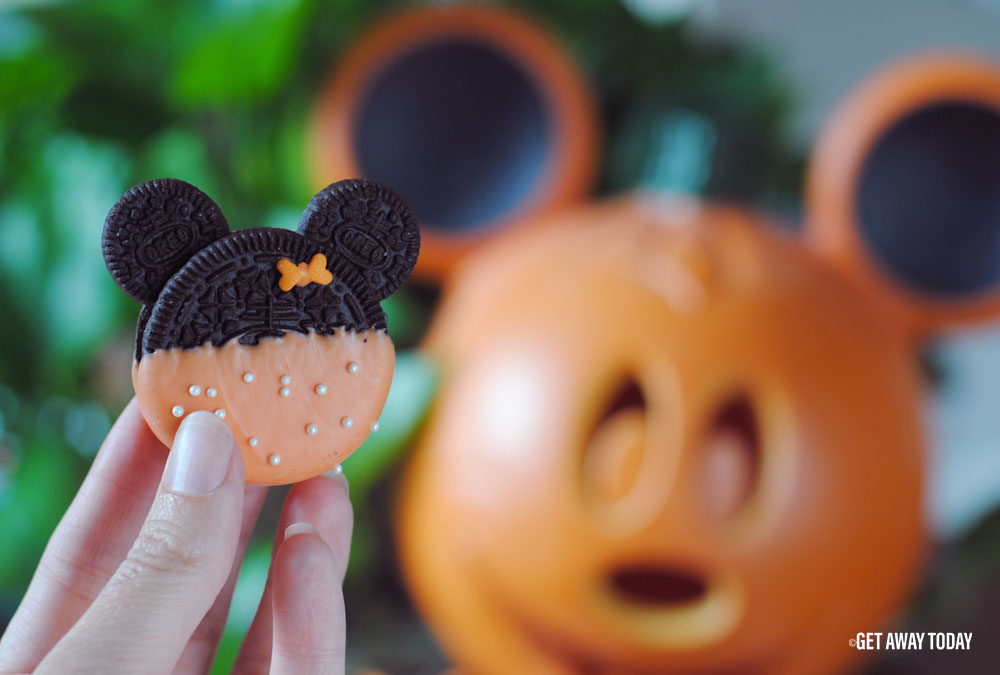 Minnie Mouse Oreo Cookies Pumpkin