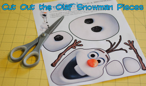 photo regarding Free Olaf Printable named Frozen Encouraged Bash Sport - Absolutely free Printable in opposition to Take Absent Presently