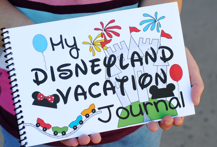 Keep your Disneyland vacation memories alive with our FREE Printable Disneyland Vacation ournal!