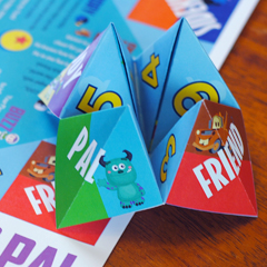 Pixar Game Printable: Find Out Who's Your Pixar Pal!
