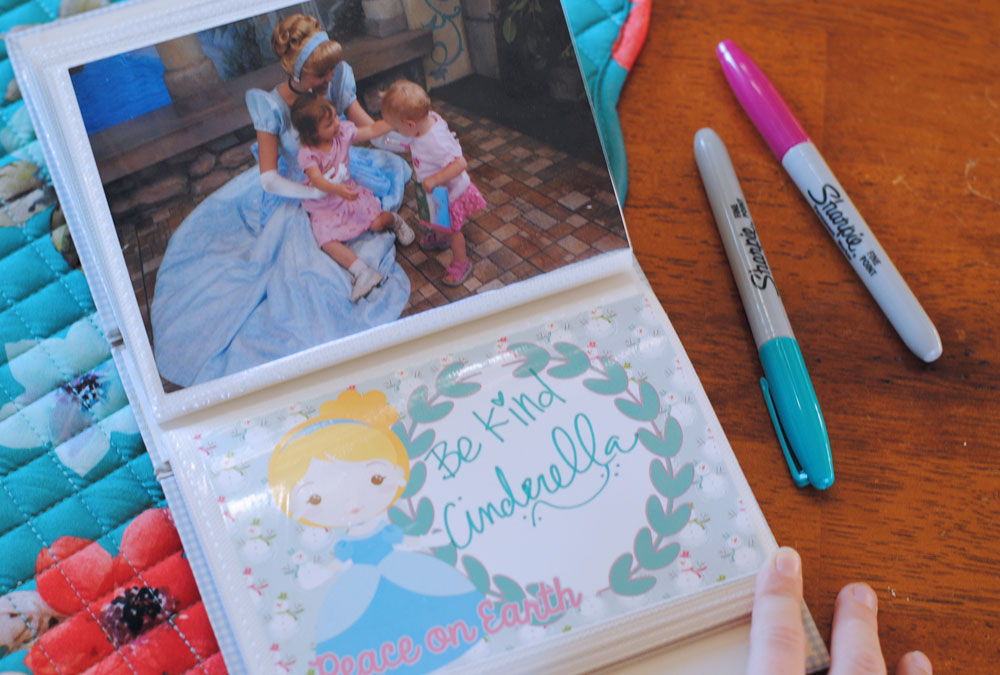Disney Princess Autograph Books Cinderella