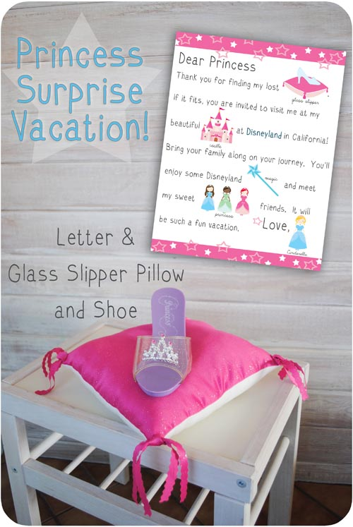 Princess vacation surprise gift idea negle Image collections