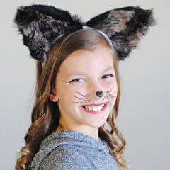 DIY Rocket Raccoon Ears