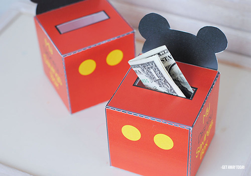 Disney Vacation Savings Box