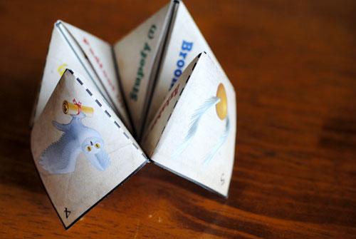 How To Make Origami Fortune Teller