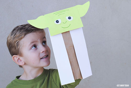 Star Wars Countdown Calendar - Yoda Activity
