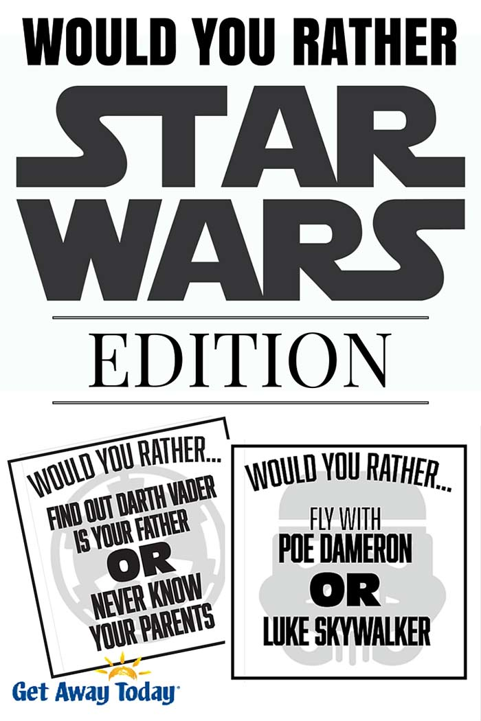 Would You Ever Visit A Card Teller If: Star Wars Edition Free Printable