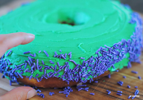 Hulk Super Hero Donuts