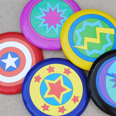 Make Your Own Super Hero Shield