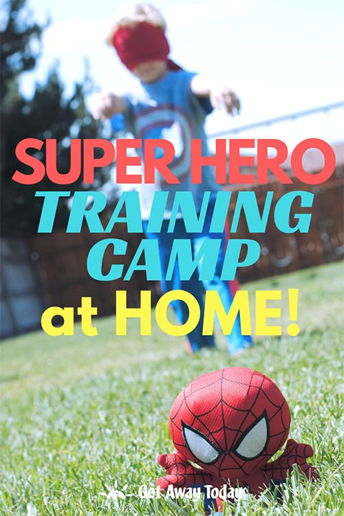 Create Your Own Super Hero Training Camp || Get Away Today