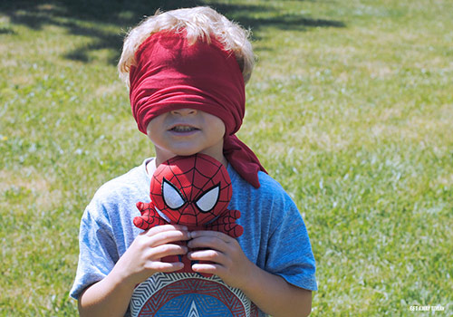 super hero training camp activities