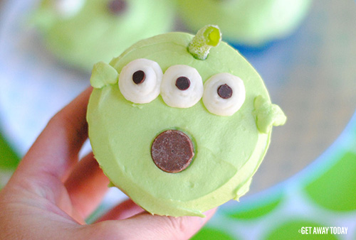 Toy Story Alien Cupcakes Disney