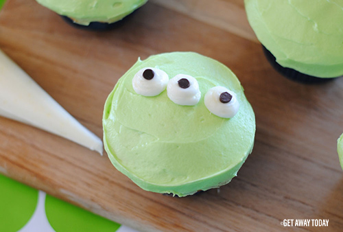 Toy Story Alien Cupcakes Eyes