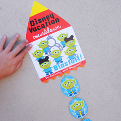 Free Printable Toy Story Aliens Countdown