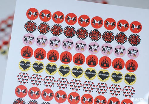 Surprise Trip to Disneyland True Love's Kiss Printable