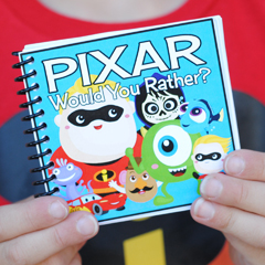 Pixar Would You Rather Game - Free Printable