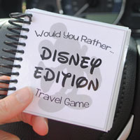 image about Would You Rather Printable named Disney Would Yourself As a substitute - Totally free Printable Sport