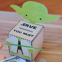 DIY Star Wars Yoda Bank