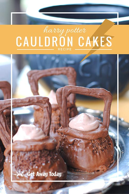 Make these Harry Potter Cauldron Cakes from The Wizarding World of Harry Potter at home with our easy and fun copycat recipe.