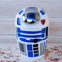 DIY R2-D2 Valentines Box